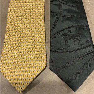 Two men's ties